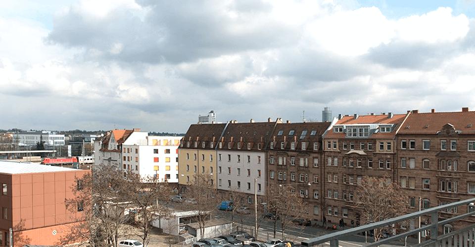 Bestlage mit Burgblick und zwei Balkonen