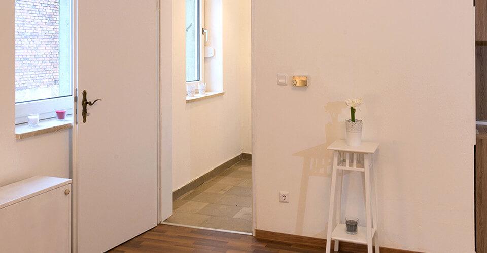 Singlewohnung im ruhigen Hinterhof