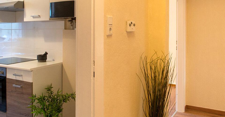 Urbanes Wohnen in drei Zimmern